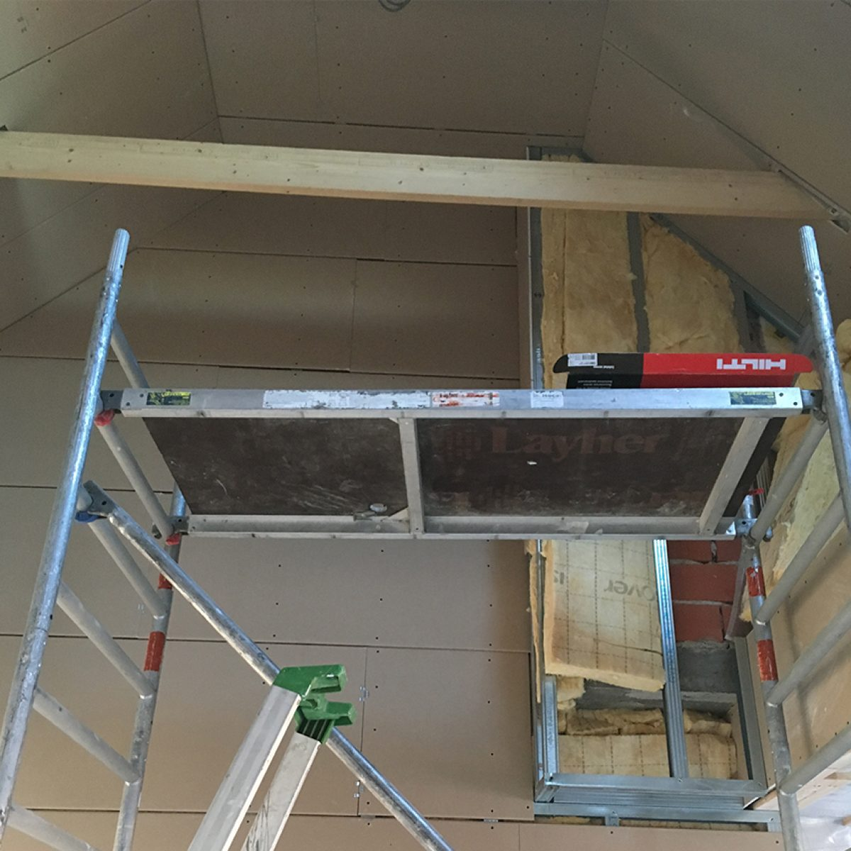 Valse wanden / plafonds